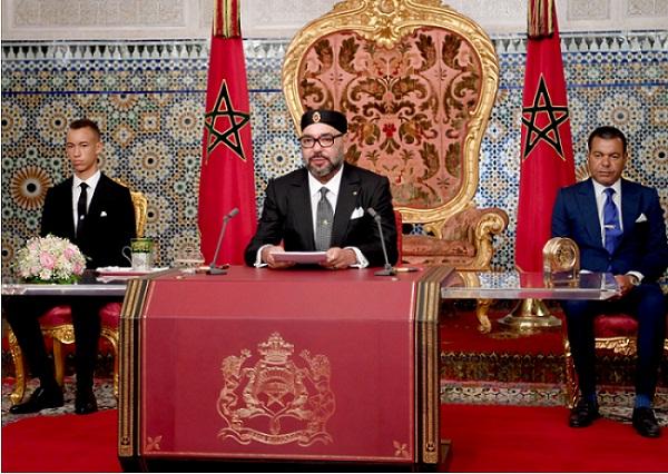 Le Roi Mohammed VI consacre tout un discours aux problèmes de la jeunesse marocaine
