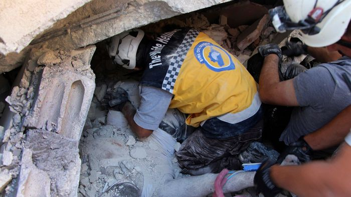 Syrie : Une quarantaine de morts dans l'explosion d'un dépôt d'armes à Idleb
