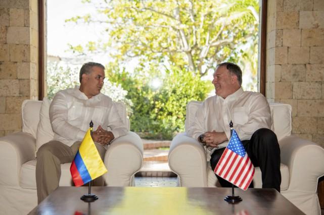 Les Etats-Unis et la Colombie s'associent pour restaurer la démocratie au Venezuela