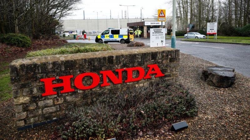 Honda annonce la fermeture au Royaume-Uni, de sa seule usine en Europe
