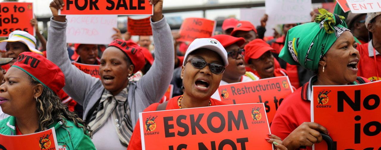 Afrique du Sud : Le principal syndicat lance des protestations contre les licenciements
