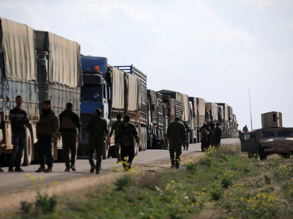 Des centaines de djihadistes détenus en Syrie remis par les FDS à l'Irak