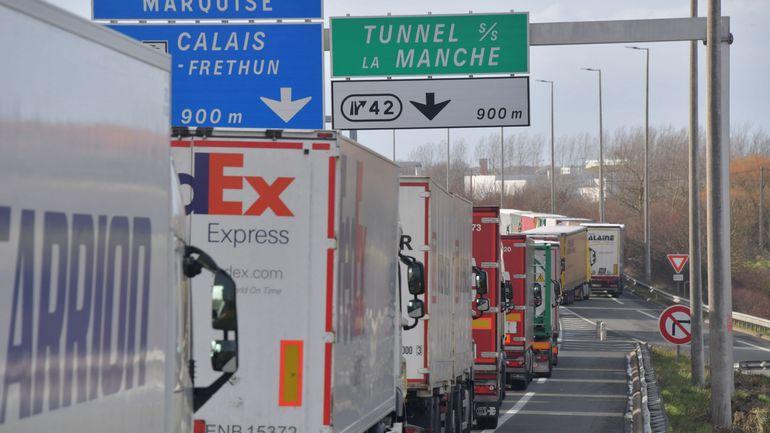 France : grève des douaniers à Calais et à Dunkerque