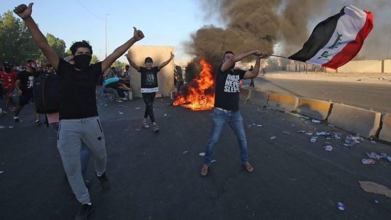 Les manifestations antigouvernementales en Irak font 157 morts