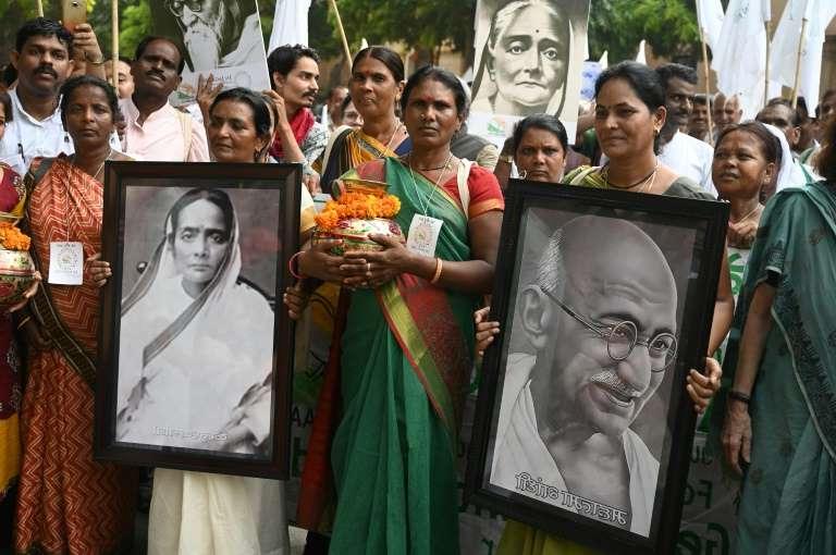 Inde : la marche pour la paix des disciples de Mahatma Gandhi