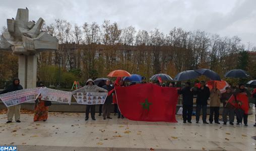 Vitoria : les victimes des graves violations des droits humains commis par le polisario