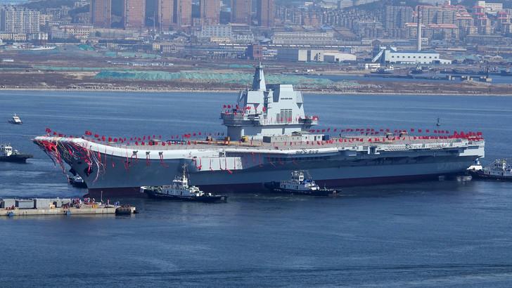 Chine : son deuxième porte-avions en service