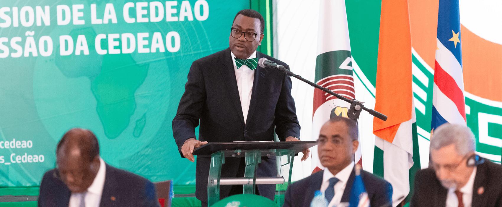 La CEDEAO appuie la candidature d'Akinwumi pour un second mandat à la tête de la BAD