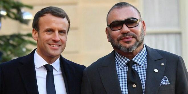 Crise libyenne: Appel téléphonique d'Emmanuel Macron au Roi Mohammed VI