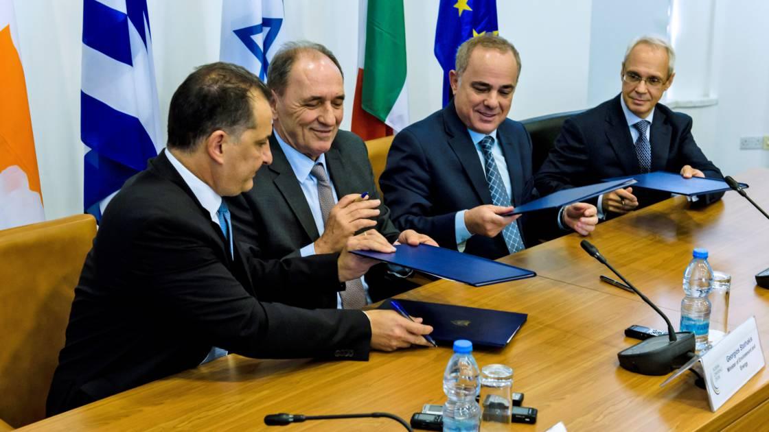 Gazoduc : Grèce, Chypre et Israël signent un accord sur le Eastmed