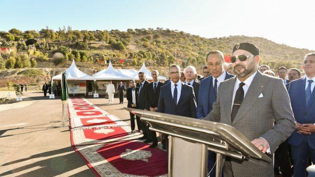 Essaouira: Le Roi Mohammed VI inaugure un barrage et plusieurs projets hydro-agricoles et d'eau potable