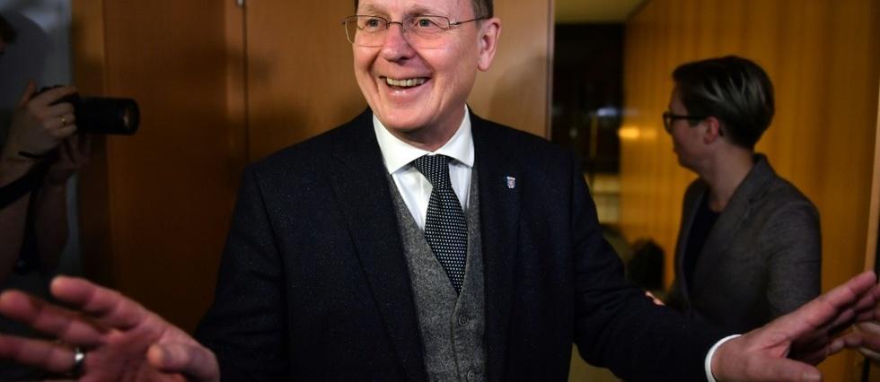 Allemagne : Réélection du président de gauche radicale en Thuringe