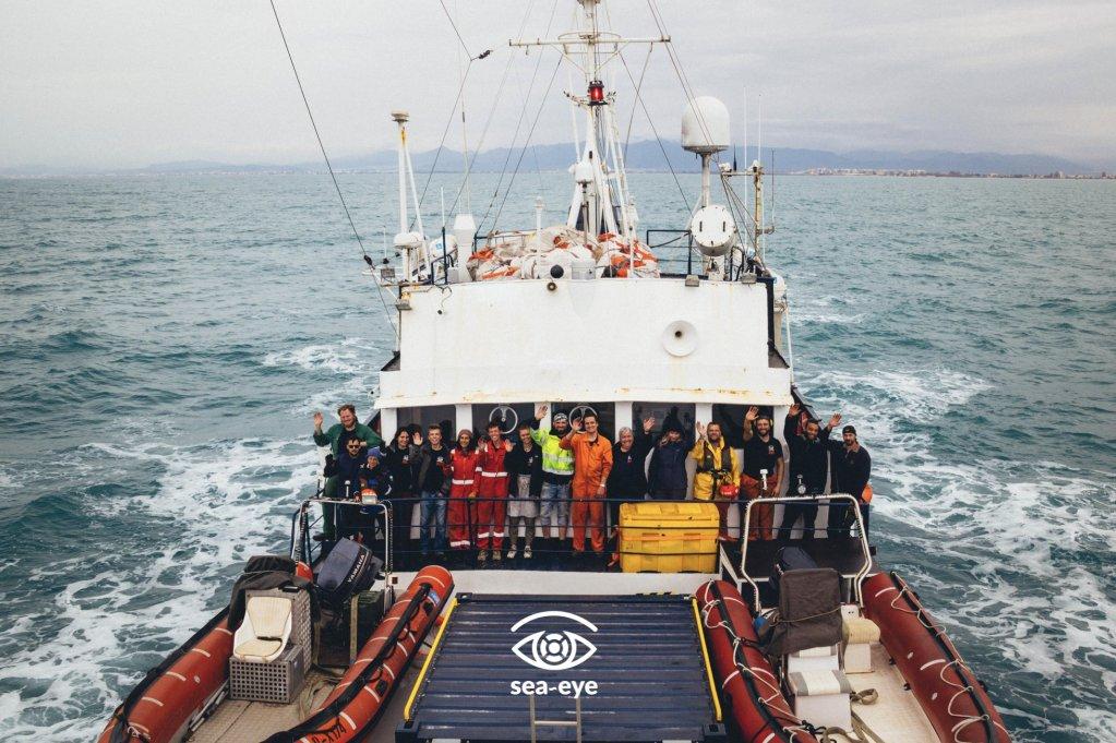 Malgré la crise sanitaire, un navire humanitaire de retour au large de la Libye