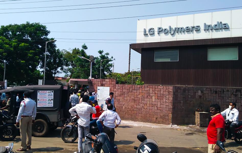 Inde : Au moins onze morts suite à une fuite de gaz dans une usine chimique