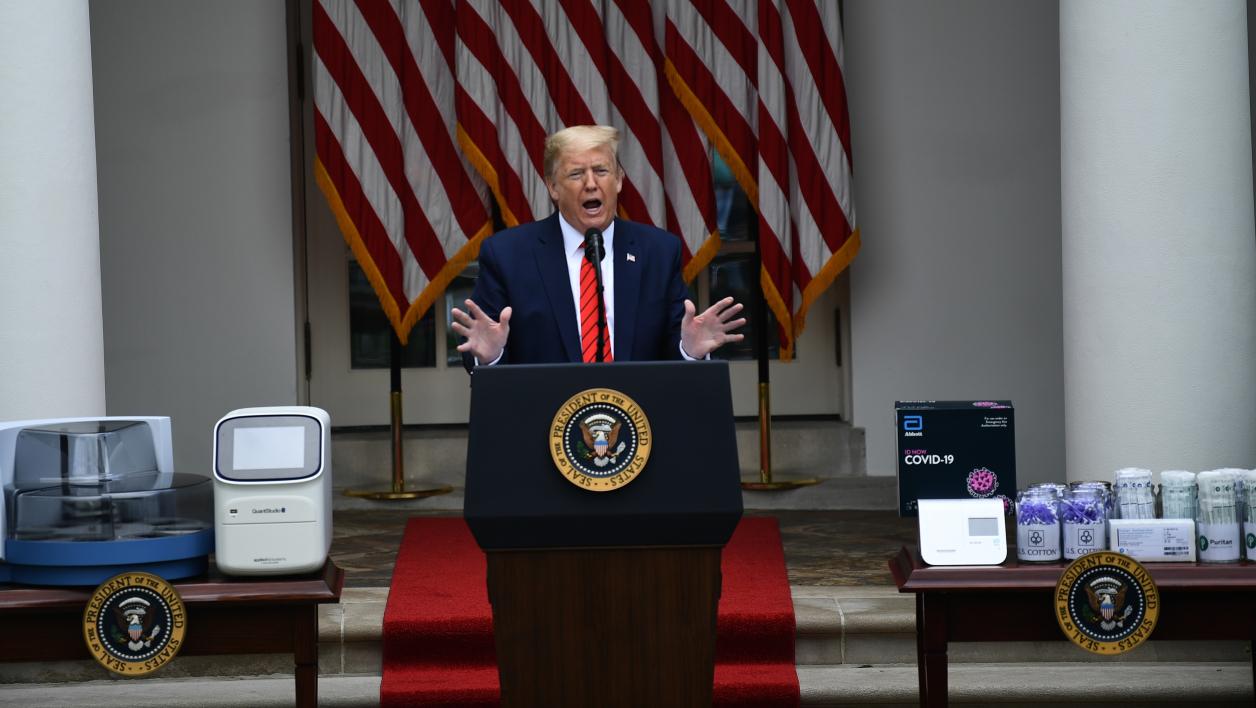 USA-Coronavirus : Le port du masque obligatoire à la Maison Blanche, sauf pour Trump et Pence