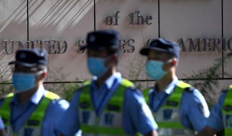 La Chine a pris possession du consulat américain à Chengdu