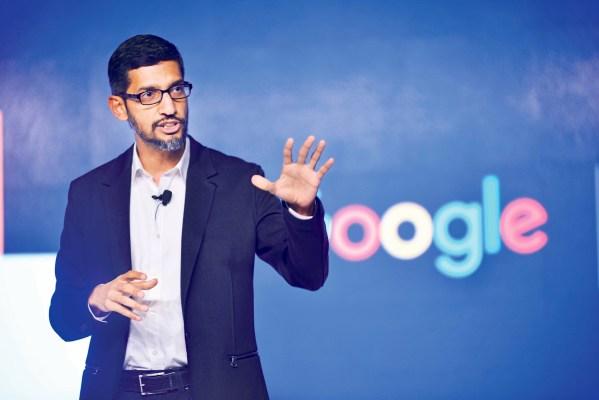 Inde : Google annonce dix milliards de dollars d'investissements dans les années à venir