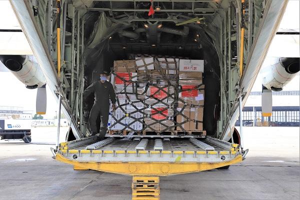 Arrivée à Beyrouth des 6 avions transportant l'aide marocaine aux victimes des explosions au Liban