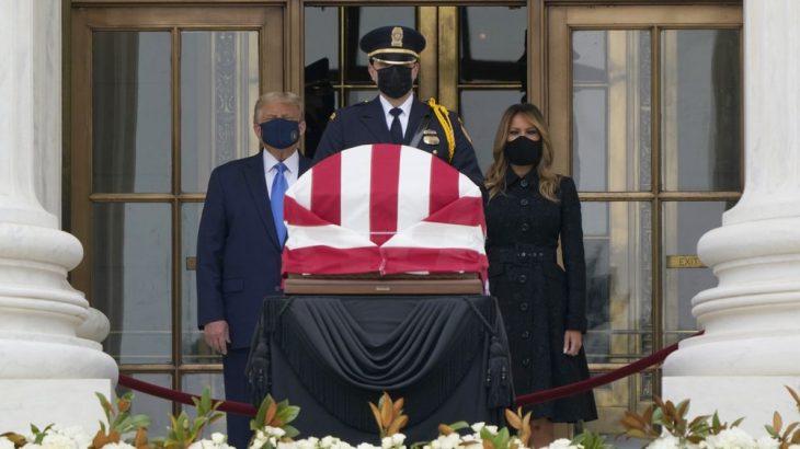 Etats-Unis : Trump conspué aux obsèques de la juge Ruth Bader Ginsburg