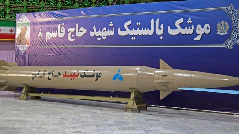 Iran : les Gardiens de la Révolution présentent un nouveau missile balistique antinavire