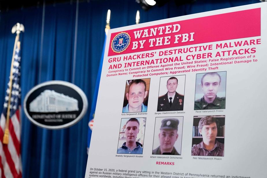 Six agents russes inculpés aux Etats-Unis pour des cyberattaques mondiales