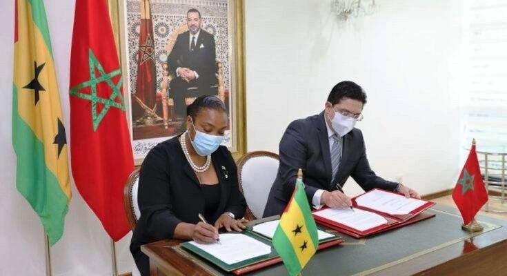 Sao Tomé-et-Principe soutient le Maroc dans sa démarche au passage frontalier de Guergarat