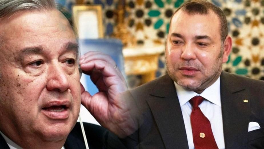 Sahara-Guergarat : Entretien du Roi Mohammed VI avec le SG de l'ONU