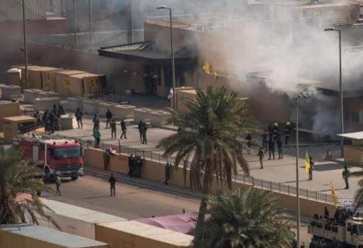 IRAK : attaques de l'ambassade américaine