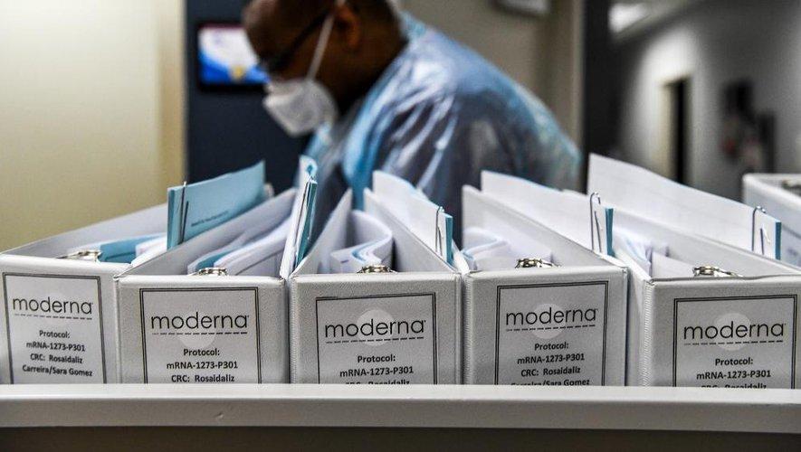 Moderna affirme que son vaccin protège des variants britannique et sud-africain du Covid-19