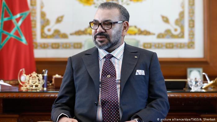 Les Etats Unis d'Amérique : La Légion du mérite, grade de commandant en chef, attribuée à Sa Majesté Mohammed VI, Roi du Maroc