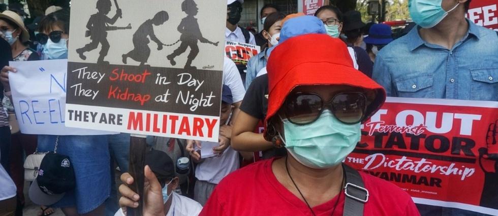 Washington impose des sanctions supplémentaires à la junte militaire birmane
