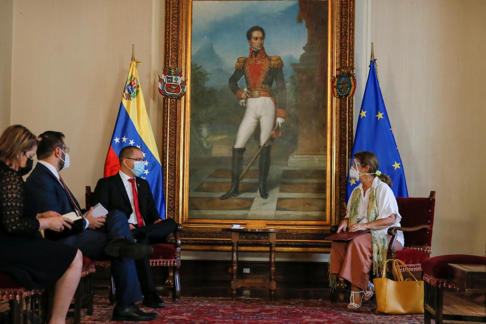 L'UE déclare «persona non grata» l'ambassadrice du Venezuela à Bruxelles