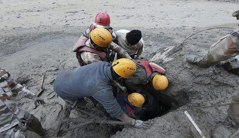 L'Inde déplore 14 morts et des dizaines de disparus après la rupture d'un glacier de l'Himalaya