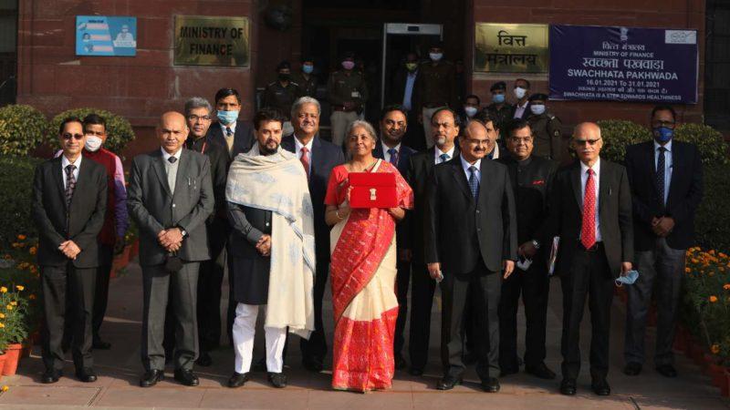 Inde :le budget 2021-2022 destiné principalement aux secteurs de la santé et les infrastructures