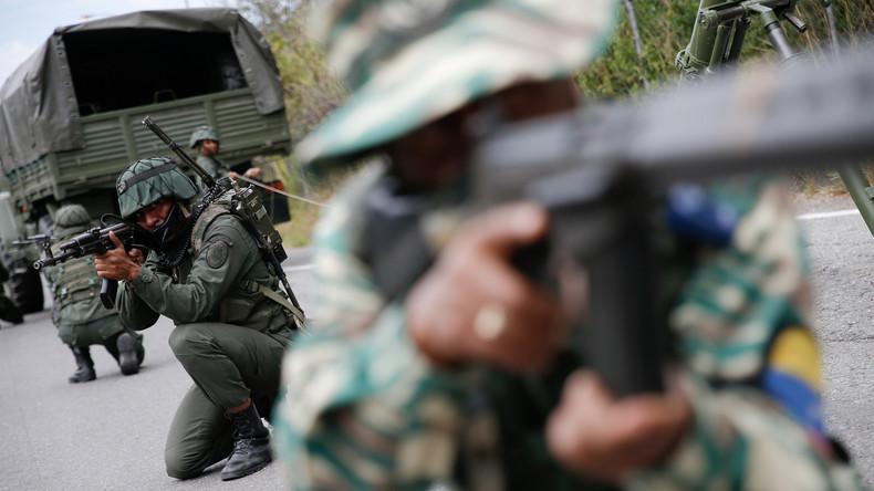 Venezuela : huit soldats tués dans des combats à la frontière avec la Colombie