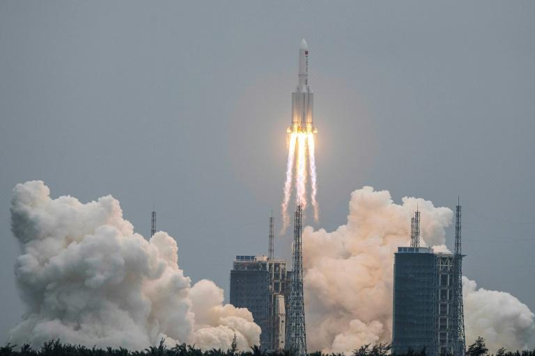La Chine lance le premier module de sa station spatiale