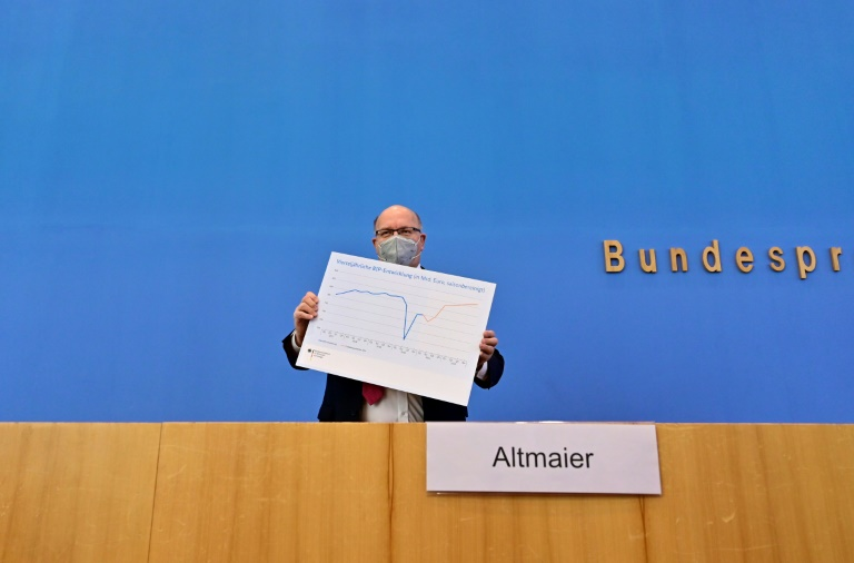 L'Allemagne revoit à la hausse ses prévisions de croissance économique pour 2021
