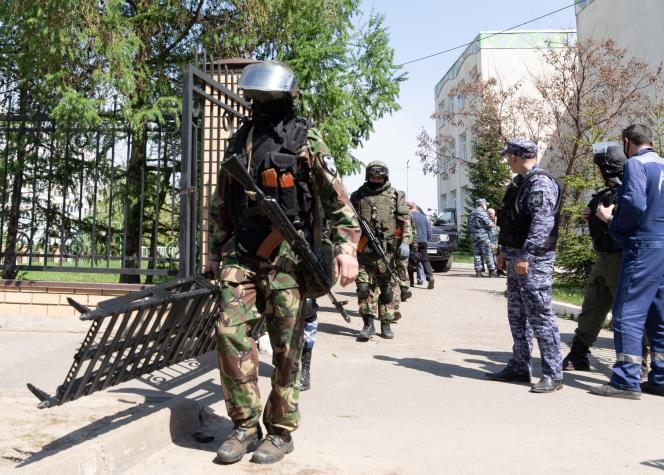 Russie : Une fusillade dans une école de la ville russe, Kazan a fait neuf morts