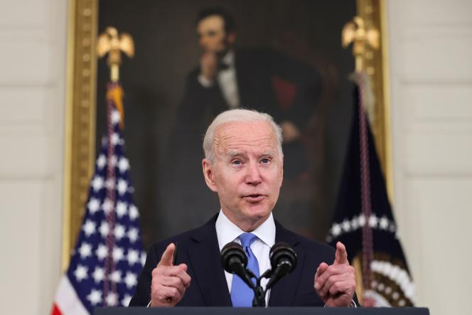 Le président américain appuie la levée des brevets sur les vaccins anti-coronavirus
