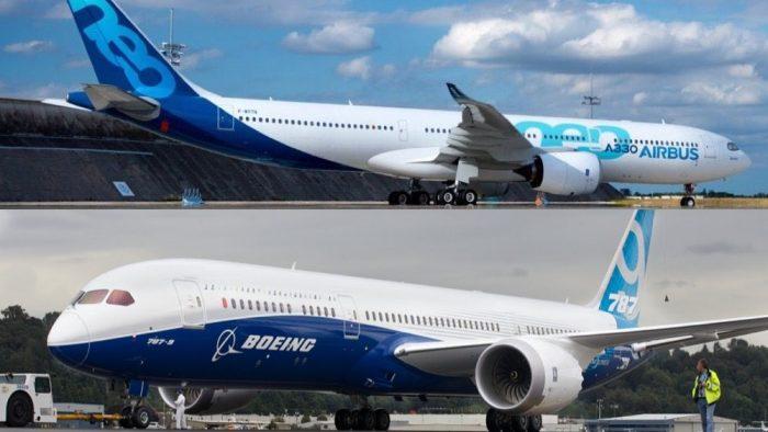 Accord entre l'Union européenne et les Etats-Unis sur le vieux conflit Airbus/Boeing