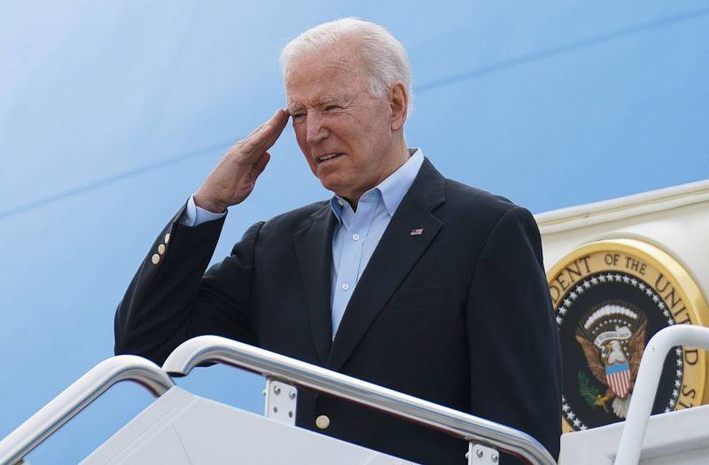 Le président américain Joe Biden à Bruxelles pour participer à un sommet de l'Otan