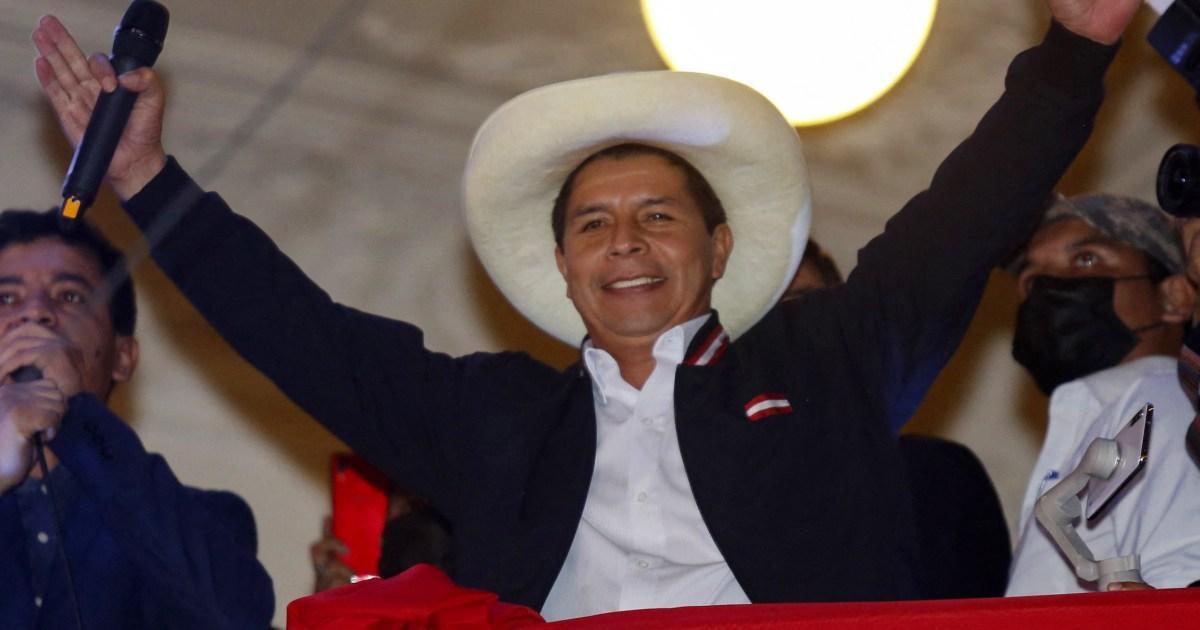 Chili : Visite du président du Pérou Pedro Castillo