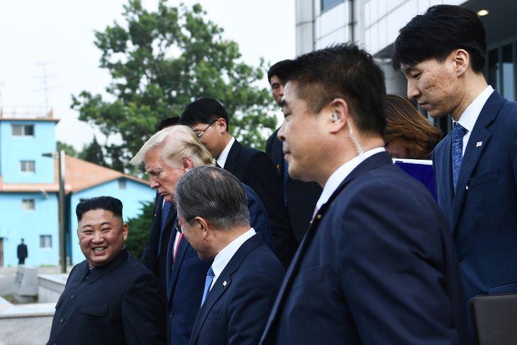 Les deux Corées ont rétabli leur ligne transfrontalière