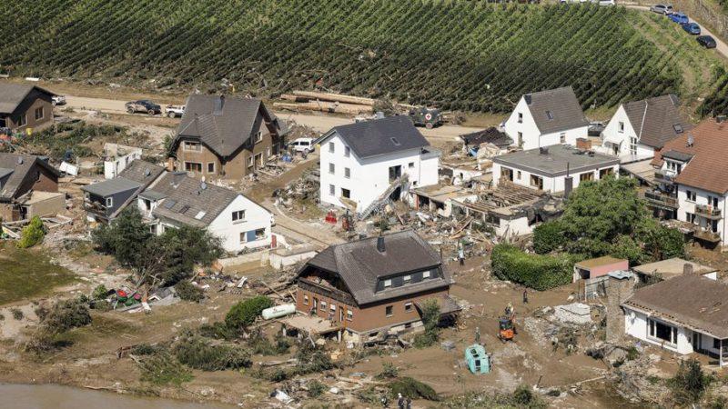 Inondations : le gouvernement allemand approuve une aide de 400 millions d'euros pour les sinistrés