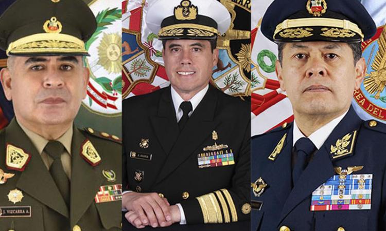Pérou: Changements dans la hiérarchie militaire