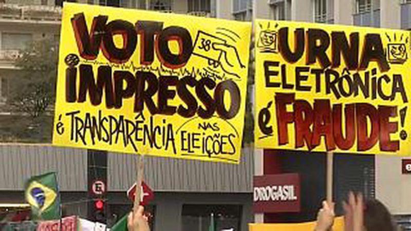 Brésil: Vote électronique ou vote papier