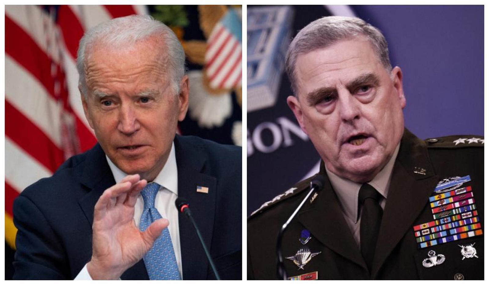 Etats-Unis : le président Biden prend parti pour son chef d'état-major