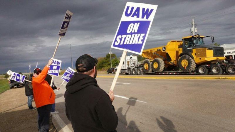 Les Etats-Unis en proie à une vague de grèves