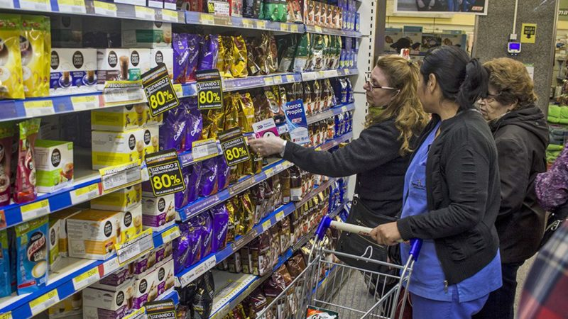 Argentine : baisse des prix de 75%