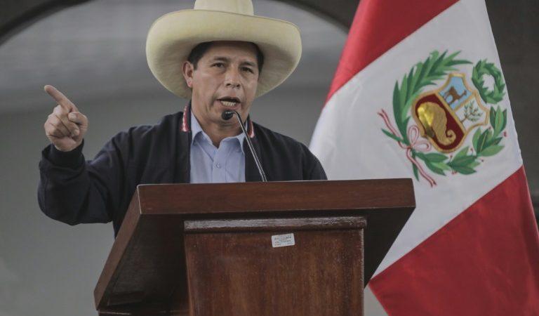 Le Pérou: désapprobation du président Pedro Castillo